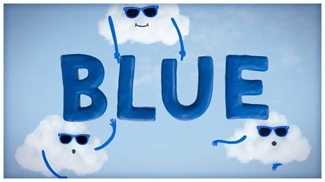 blue is about quot the sky is blue quot songs about colors by storybots