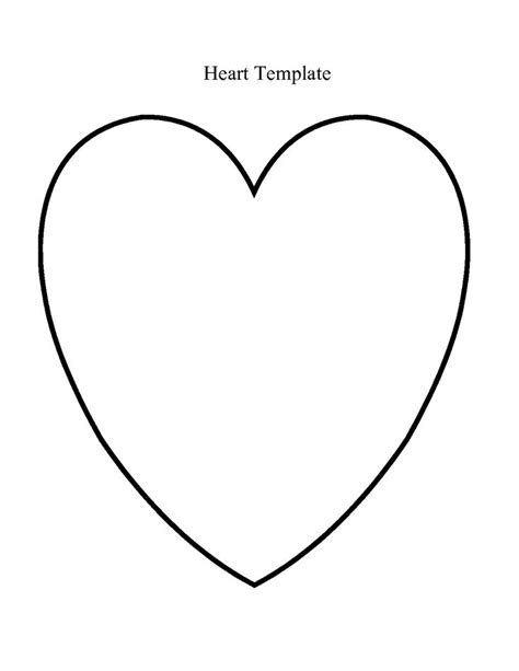 heart template large heart template heart template google search playgroup crafts