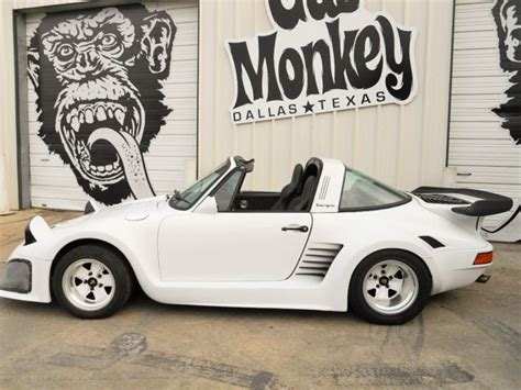 gas monkey porsche porsche other convertible 1984 white for sale