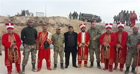 ottoman military band ottoman military band mehter performs on turkey syria border