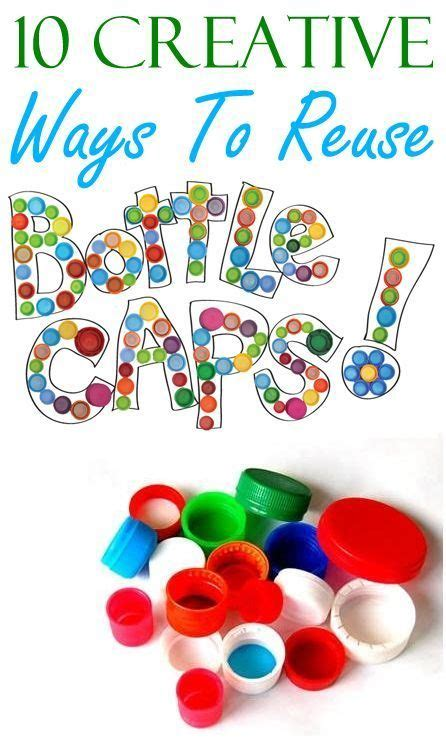 10 creative ways to reuse plastic bottle caps reuse plastic bottles plastic bottle caps and
