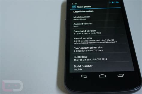 how to update cm9 nightly on touchpad first cm9 nightly available for the verizon galaxy nexus