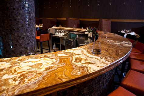 onyx bar top onyx countertops pros and cons