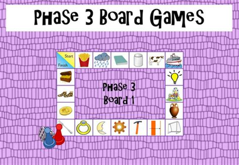printable games for phase 3 phonics phonics phase 3 board games by funkyphonics teaching