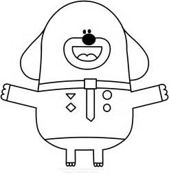 hey duggee results fun coloring pages