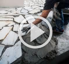 terrasse polygonalplatten verlegen terrasse bauen mit hornbach