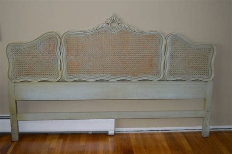 french headboard king french louis xv style king size headboard w cane by