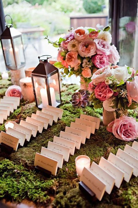 Wedding Wednesday :: Escort Card Tables   Flirty Fleurs