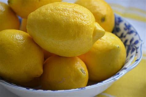 Shelf Of Lemons ingredient lemons water orange blossoms
