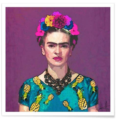 frida kahlo par frida 2267019353 trendy frida kahlo en affiche premium par xchange studio juniqe