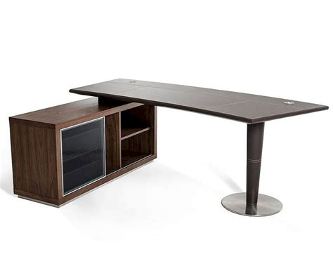 Office Desks With Storage Office Desk And Side Storage Cabinet In Modern Style 44f093 1