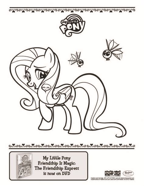 pony express coloring pages fluttershy coloring sheet from the quot my little pony