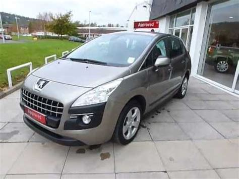 Peugeot Swansea Walkaround Of A Peugeot 3008 1 6 Hdi Sport By