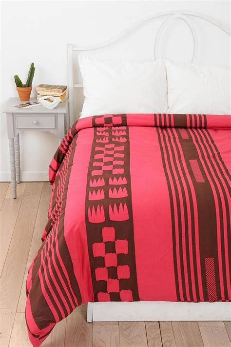 magical thinking bedding magical thinking tent stripe duvet cover urbanoutfitters
