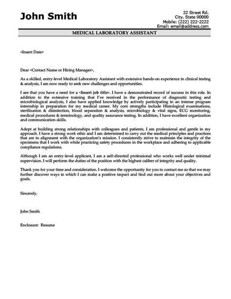 cover letter lab assistant 28 images lab technician