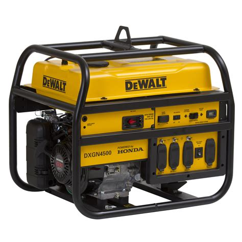 shop dewalt 4 200 running watts portable generator with
