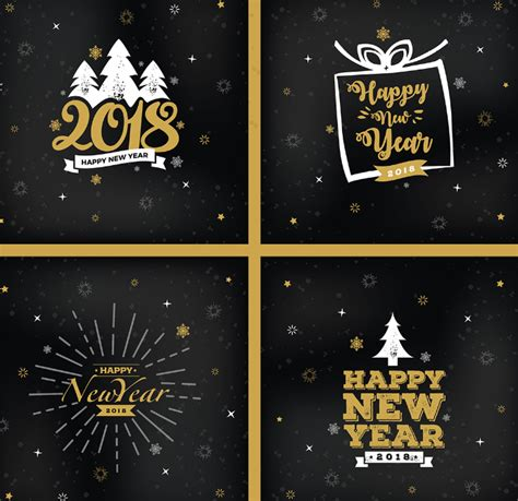 Free Happy New Year Card Templates by 150 Best Happy New Year Graphic Design