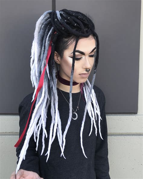 artificial dreadlock hairstyles one day one day pinterest dreads dreadlocks and