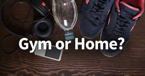 working out at home vs which will get you better