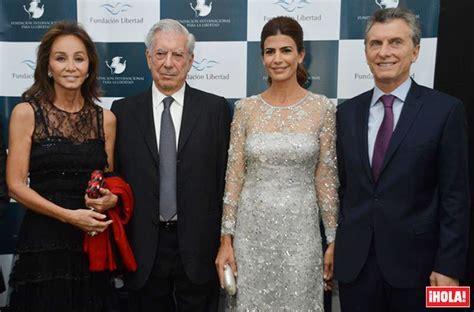 Isabel Preysler y Mario Vargas Llosa, cena benéfica con el