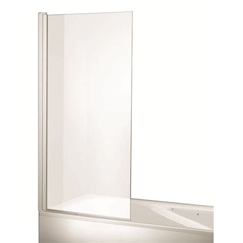 rick mclean s designer bathware 750mm swing bath screen