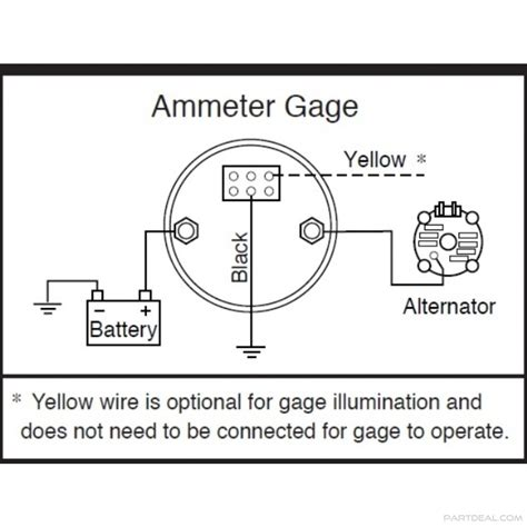 vdo ammeter wiring diagram 26 wiring diagram images