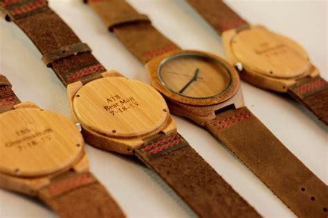 what to engrave on groomsmen gift unique groomsmens gifts engraved wooden watches