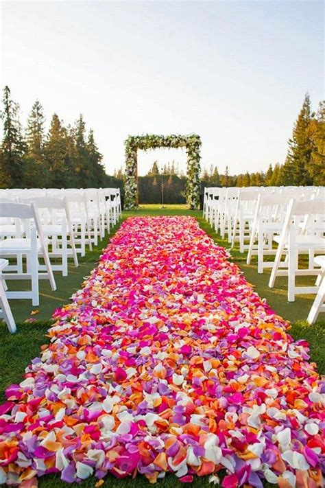 wedding inspiration an outdoor ceremony aisle wedding bells outdoor wedding aisle runner ideas images