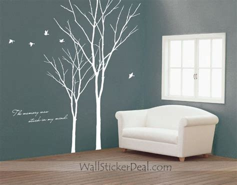 How To Paint Wall Murals the memory was stack in my mind tree wall sticker