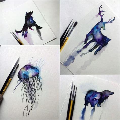 animal galaxy tattoo galaxy animals art by washington albuquerque on yotseds