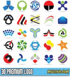 Free 3d Logo Templates by 3d Logo Design Templates Free Vector Graphics