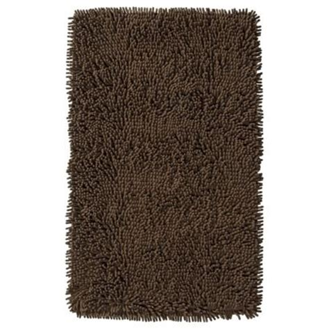 mohawk bathroom rugs mohawk home memory foam bath rug bison brown