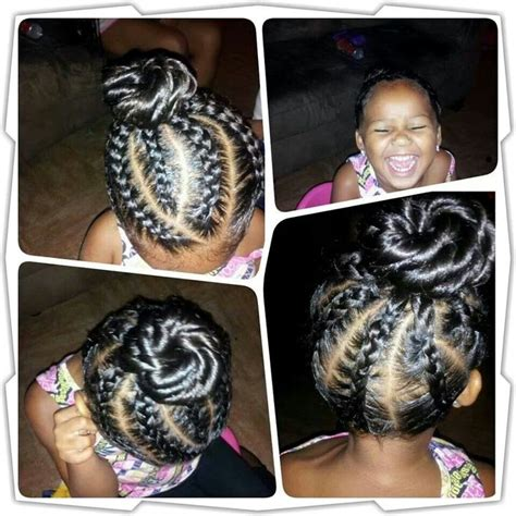 kids godess braids with bun 1000 images about kids braid styles on pinterest hair