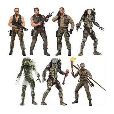 figure 7 inch predator 30th anniversary 7 inch figure set neca
