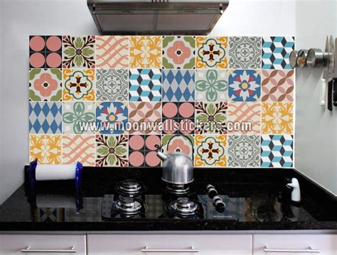 wall tile stickers kitchen kitchen tiles stickers traditional