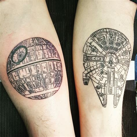 millennium falcon tattoo best 25 ideas on wars