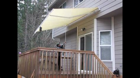 how to install awning aleko patio awning youtube