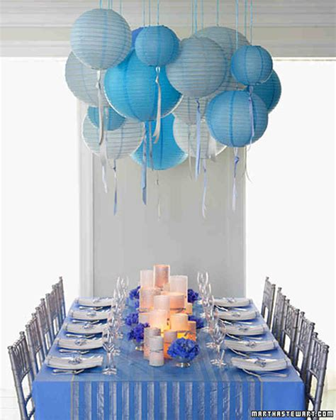 wedding shower themes 22 blue bridal shower ideas that are so cool martha stewart weddings