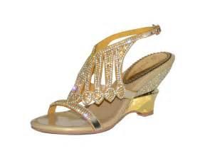 gold wedges shoes rhinestone tassel pearl beaded high heels shoes gold