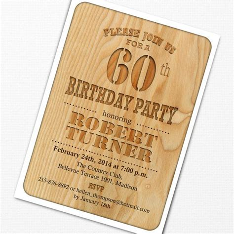 printable 60th birthday party invitations best 25 60th 17 best images about jimmy s 60 party on pinterest 60th