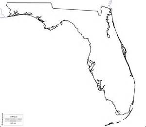 geography florida outline maps