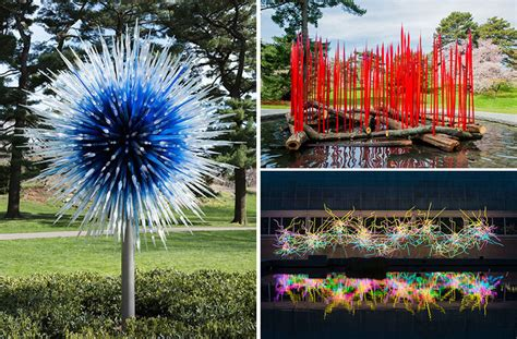 Dale Chihuly S Glass Sculptures Takeover The New York Chihuly Exhibit Botanical Gardens
