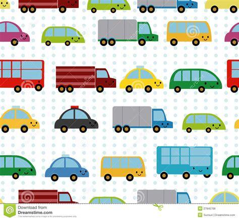 Auto Pattern Finder   cartoon cars seamless pattern stock vector image 27845768