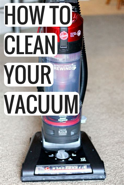 how to deep clean how to deep clean your vacuum cleaner