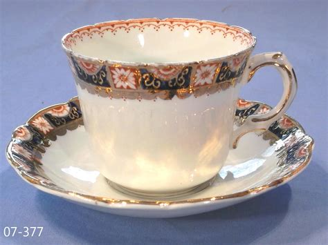 Queens China Vintage Bone China Cup and Saucer: Collectable China