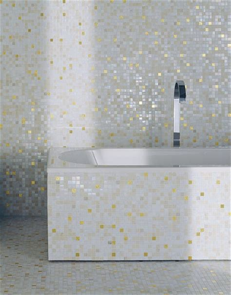 white and gold bathroom mosaic tile bathroom with bisazza white gold tile flickr photo sharing