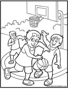 basketball coloring page basketball coloring pages free printable pictures