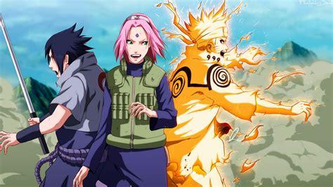 imagenes en full hd de naruto naruto sasuke y sakura full hd en fondos 1080