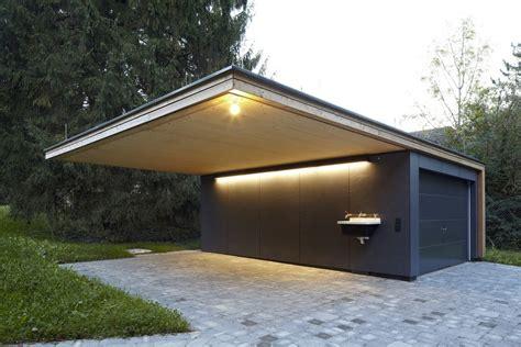 Hillside Garage Plans by Modern Summer Retreat In Wood And Glass Haus Hainbach