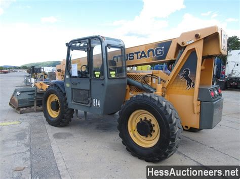 used 2006 mustang 844 telescopic forklift for sale in pa